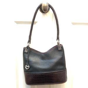 Vintage Brighton Handbag Black And Brown